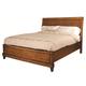 Aspenhome Tamarind Queen Sleigh Bed in Chutney