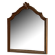 Homelegance Montrose Mirror in Brown Cherry 1749-6
