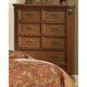 Homelegance Montrose Chest in Brown Cherry 1749-9