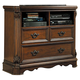 Homelegance Montrose TV Chest in Brown Cherry 1749-11