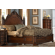 Homelegance Montvail Queen Mansion Bed in Rich Warm Cherry 2105-1