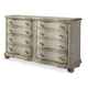 A.R.T. Belmar II Drawer Dresser in White