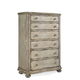A.R.T. Belmar II Six Drawer Chest in White