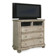 A.R.T. Belmar II Media Chest in White