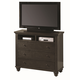 Aspenhome Cambridge Entertainment Chest in Black ICB-485-BLK