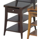 Catnapper Chair Side Table in Cherry 881-257