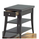 Catnapper Chair Side Table in Black 881-357
