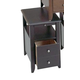 Catnapper Chair Side Table in Black 882-357