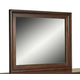 Aspenhome Cambridge Chesser Mirror in Brown Cherry ICB-463-BCH