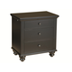 Aspenhome Cambridge Liv360 Nightstand in Black ICB-450-BLK