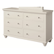 Aspenhome Cambridge Dresser in Eggshell ICB-554-EGG