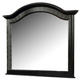 Acme Newville Mirror in Ebony Black 04744