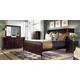 Kincaid Alston Solid Wood Low Profile Platform Bedroom Set