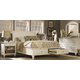 Aspenhome Cambridge Sleigh Storage Bedroom Set in Eggshell