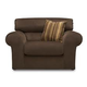 Jackson Mesa Chair in Chocolate 4366-01