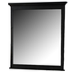 Homelegance Morelle Mirror in Black 1356BK-6