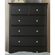 Homelegance Morelle Chest in Black 1356BK-9