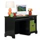 Homelegance Morelle Writing Desk in Black 1356BK-15