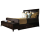 Kincaid Alston Solid Wood King Bed with Underbed and Footboard Bench Storage