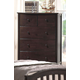 Acme San Marino Youth Chest in Dark Walnut 04996