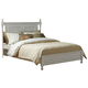 Homelegance Morelle King Poster Bed in White 1356KW-1EK