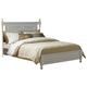 Homelegance Morelle Full Poster Bed in White 1356FW-1