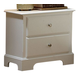 Homelegance Morelle Nightstand in White 1356W-4