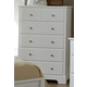 Homelegance Morelle Chest in White 1356W-9