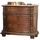 Homelegance Palace Nightstand in Rich Brown 1394-4