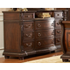 Homelegance Palace Dresser in Rich Brown 1394-5