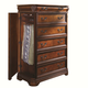 Aspenhome Napa Gentleman's Chest with Side Storage in Cherry I74-456