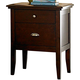 Homelegance Pasadena Nightstand in Brown Cherry 1475-4