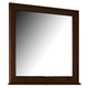 Homelegance Pasadena Mirror in Brown Cherry 1475-6