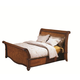 Aspenhome Napa Eastern King Sleigh Bed in Cherry