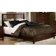 Homelegance Paula Queen Panel Bed in Medium Cherry 1348-1