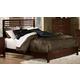 Homelegance Paula Full Panel Bed in Medium Cherry 1348F-1