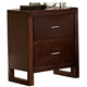 Homelegance Paula Nightstand in Medium Cherry 1348-4
