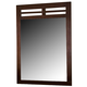 Homelegance Paula Mirror in Medium Cherry 1348-6