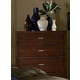 Homelegance Paula Chest in Medium Cherry 1348-9