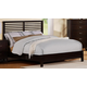 Homelegance Paula II Queen Panel Bed in Dark Cherry 1348DC-1