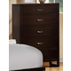 Homelegance Paula II Chest in Dark Cherry 1348DC-9