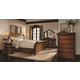 Aspenhome Napa Sleigh Storage Bedroom Set in Cherry