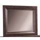 Aspenhome Bayfield Chesser Mirror in Dark Mahogany I70-463-DK