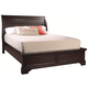 Aspenhome Bayfield Queen Sleigh Bed in Dark Mahogany