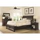 Aspenhome Bayfield Sleigh Bedroom Set in Dark Mahogany