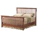 Acme Ridgeville Queen Slat Bed in Oak 06190Q