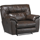 Catnapper Nolan Extra Wide Cuddler Recliner in Godiva 4040-4