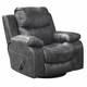 Catnapper Catalina Swiver Glider Recliner in Steel 4310-5