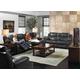 Catnapper Catalina 2-Piece Reclining Living Room Set in Steel