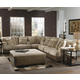Jackson Barkley 4-PC Sectional Living Room Set in Toast